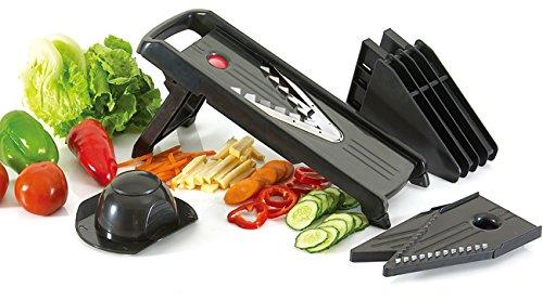 V Blade Mandoline Slicer- Heavy Duty 5 Blades,vegetable & Fruits, Food Cutter, Chopper & Slicer