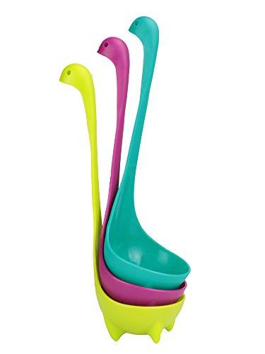 Lavondle Set of 3 Nessie Ladles Multicolor