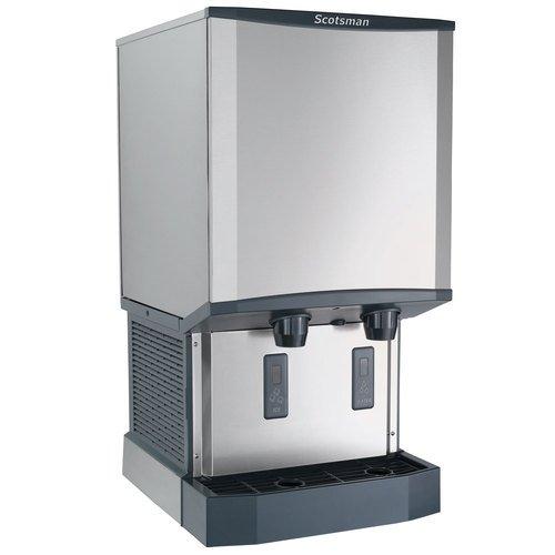 Scotsman HID540A-1 Meridian Countertop Air Cooled Ice Machine and Water Dispenser - 40 lb Bin Stora