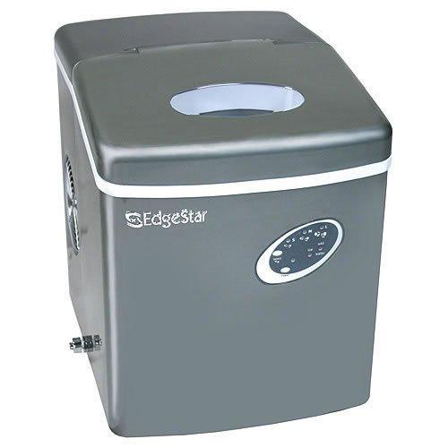 Edgestar Ip210ti Titanium Portable Ice Maker, Gray