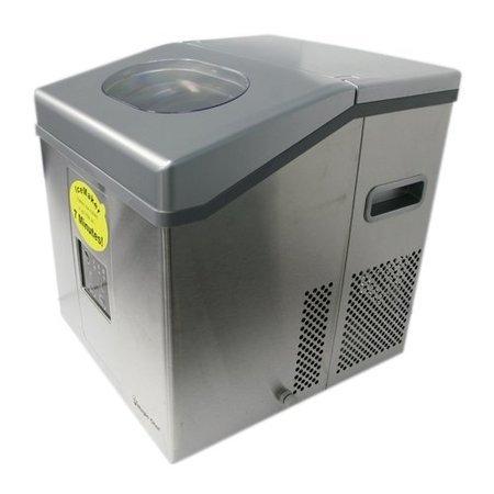 Magic Chef Portable Mini Ice Maker Mcim30sst