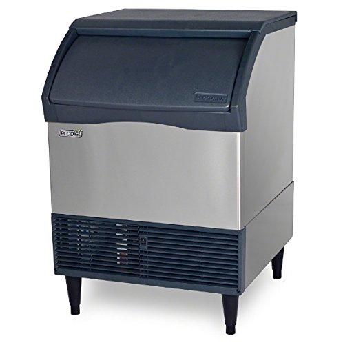 Scotsman CU3030MA Prodigy Self-Contained Undercounter Ice Machine Air Condenser 250 lb Production 110 lb Storage