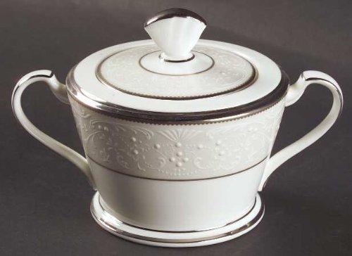 Noritake Silver Palace Sugar Bowl Lid Fine China Dinnerware