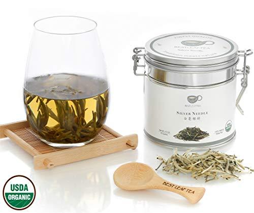 BESTLEAFTEA- Organic Silver Needle White Tea Bai Hao Yin Zhen70g 25Oz