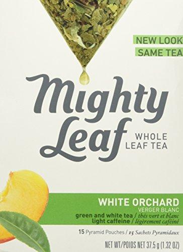Mighty Leaf - White Tea White Orchard - 15 Tea Bags  132 oz  375 g