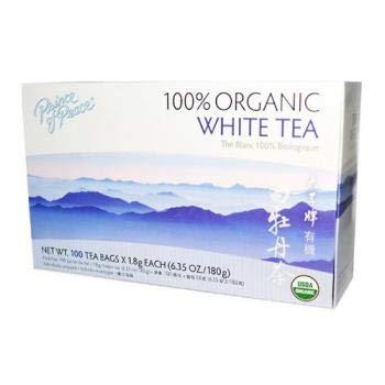 Prince of Peace Organic Premium White Tea 100 tea bags Pack of 3
