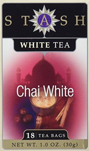 Stash Tea - Chai White Tea - 18 Tea Bags Packaging May vary