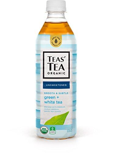 Teas Tea Unsweetened Green White Tea 169 Ounce Pack of 12 Organic Zero Calories No Sugars No Artificial Sweeteners Antioxidant Rich High in Vitamin C