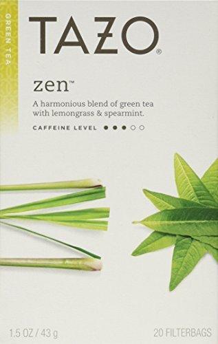 TAZO Tea Green 20 BAGS Pack of 6