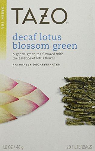 Tazo Decaf Lotus Blossom Green Tea 20 ct