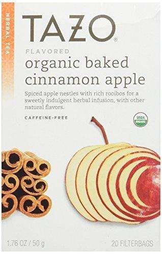 Tazo Organic Baked Cinnamon Apple Tea 20 ct