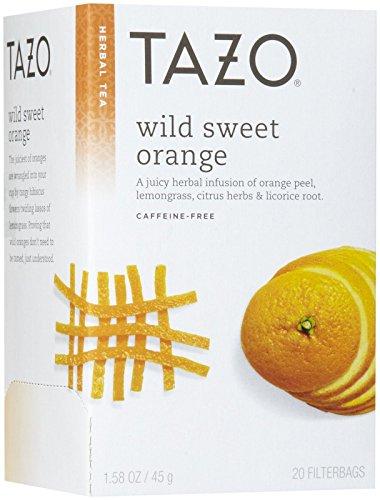 Tazo Wild Sweet Orange Herbal Tea 20 ct