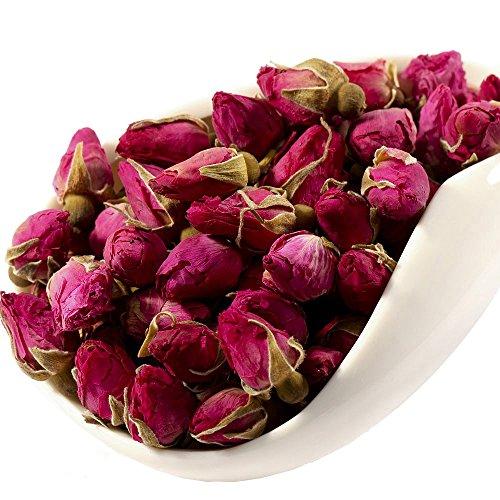 Red Rose Tea - Chinese Tea - Herbal - Flower Tea - Decaffeinated - Loose Leaf Tea - 1oz