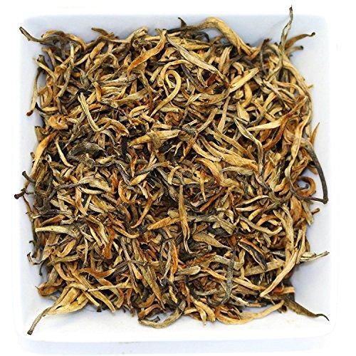 Tealyra - Imperial Golden Monkey - Yunnan Black Loose Leaf Tea - Best Chinese Tea - Organically Grown - Bold Caffeine - 110g 4-ounce