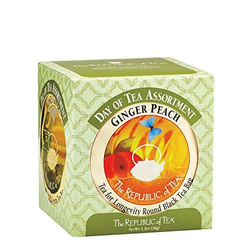 The Republic Of Tea Day Of Tea Assortment 24 Tea Bags Premium Tea Sampler