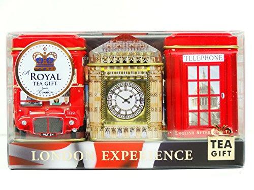 English Teas - Mini Caddy Gift Set - London Experience 3 x 25g Tea Gift Pa