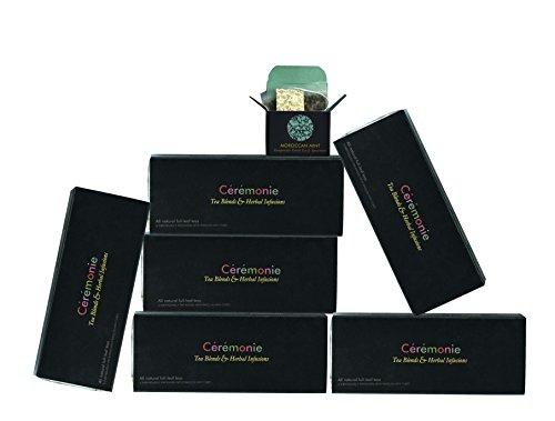 Mini Cube Tea Gift Sampler Pack 5 cubes in a pack - 6 Winter Sampler Packs