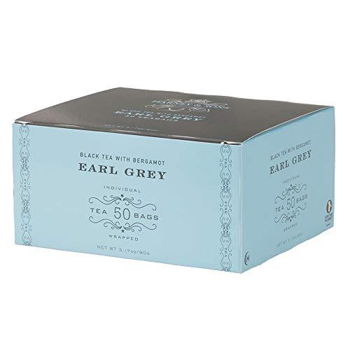 Harney Sons Earl Grey Tea - 50 Individually Wrapped Tea Bags - Black Tea with Bergamot