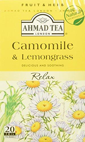Ahmad Tea - Camomile Lemongrass Tea Infusion 20 Bags - 30g