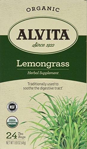 Alvita 169 Ounce Organic Tea Bags Lemongrass 24 Count