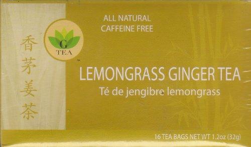 Lemongrass Ginger Tea 16 Bags Pack of 3