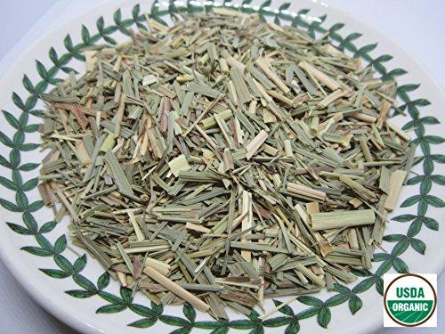 Organic Lemongrass - Cymbopogon citratus Loose Leaf CS by Nature Tea 1 oz