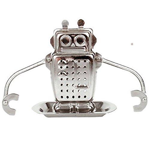 Herxuhouse Tea Infuser Filter Stainless Steel Tea Ball Strainer Robot