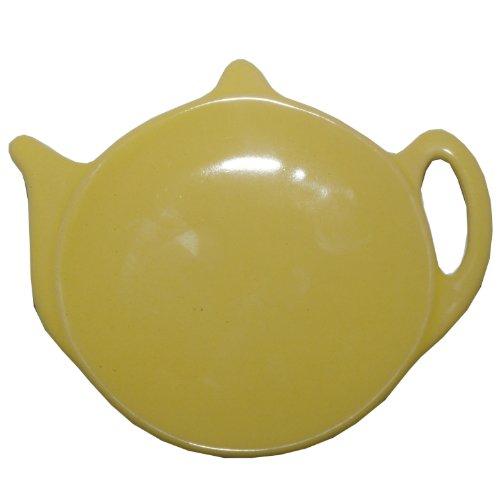 Price and Kensington Yellow Tea Bag Caddy