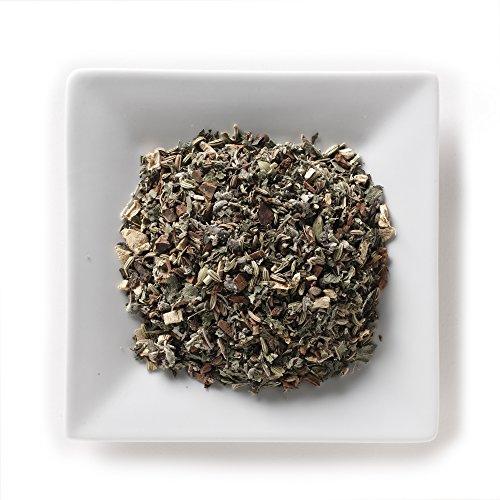 Mahamosa Herbal Flower Tea Blend and Tea Infuser Set 8 oz Spicy Splendor Herbal Tea 1 Stainless Steel Tea Ball Infuser Bundle- 2 itemscinnamon fennel ginger rosemary peppermint