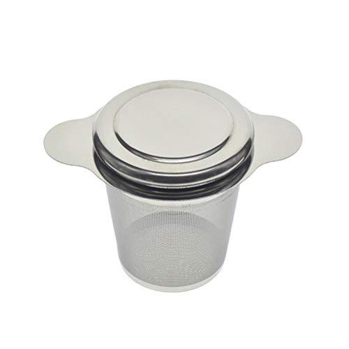 UPKOCH Stainless Steel Tea Ball Infuser Tea Filter Fine Mesh Tea Strainer with Handle
