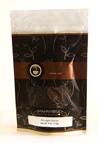 Mahamosa Assam Indian Black Tea and Tea Filter Set 4 oz Khongea TGFOP Black Tea 100 Loose Leaf Tea Filters Bundle- 2 itemsTea Ingredients Single estate Indian Assam region black tea
