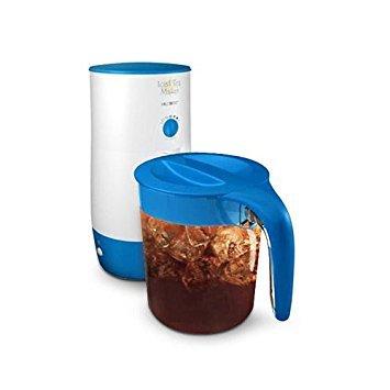 Mr Coffee TM39P 3 Quart Iced Tea Maker with Pitcher WhiteBlue