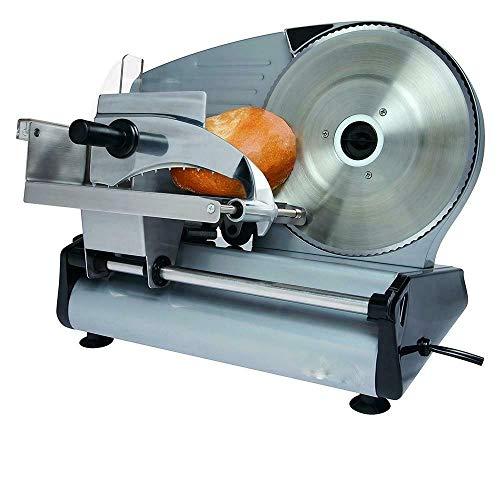 Electric Commercial Meat Slicer Machine Food Cutting Deli Slice Veggie Cutter Kitchen 87 Blade 180W