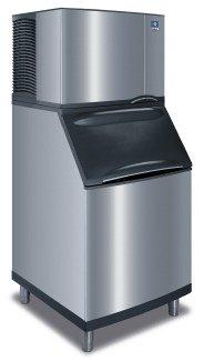 Manitowoc Id-0502a_b-570 530 Lb Air-cooled Full Cube Ice Machine W/ Storage Bin