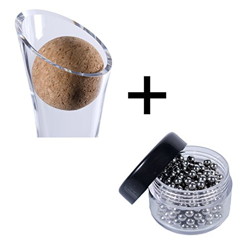 Wine Decanter Cork Stopper Stainless Steel Cleaning Beads Accessories