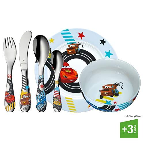 WMF Disney Cars 2 Childrens Cutlery Set Transparent 6-Piece