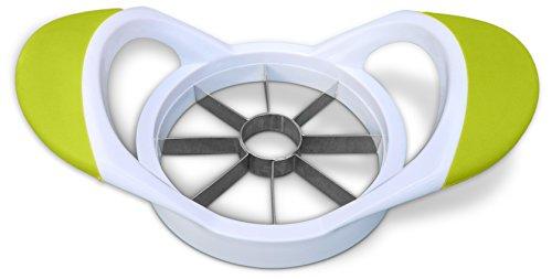 Wrenwane® Apple Slicer Corer - 100% Non-magnetic Stainless Steel Blades, White