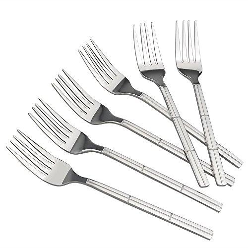 Lesbin Dessert Fork 12-Piece Stainless Steel Dessert Forks Salad Forks 677-Inch