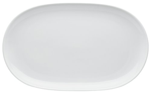 HIC Porcelain Oval Platter 1425- by 95-inch