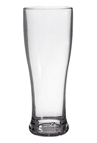 CreativeWare PIL08 Pilsner Beer Glass Set 8 Pack