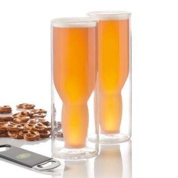 Highwave Double-Wall Australian Beer Glass Set of 2