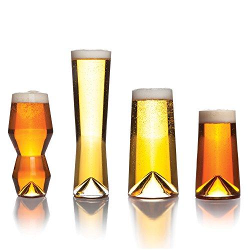 Sempli Monti-Taste Beer Glasses Set of 4 in Gift Box