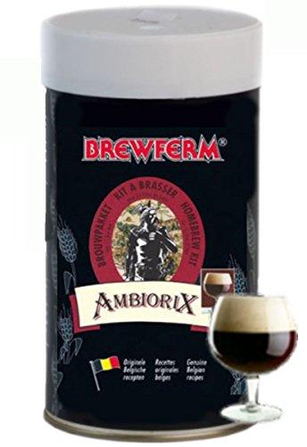 Brewferm AMBIORIX Beer Kit 15L ABV 65 Homebrew Genuine Belgium Beer Making