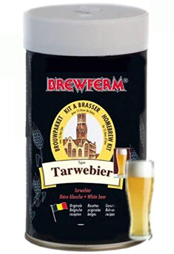 Brewferm WHEAT Beer Kit 15L ABV 50 Homebrew Strong Genuine Belgium Beer Making