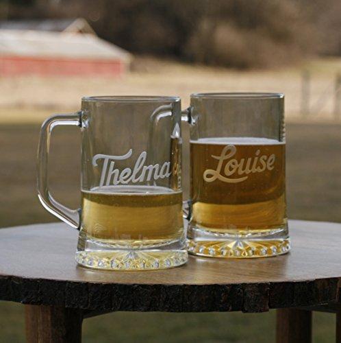 Thelma and Louise Beer Mug Set