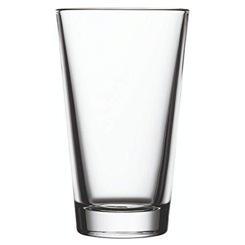16 oz Conical Pint Glass - 3 12 x 3 12 x 5 34 - 6 count box - Restaurantware
