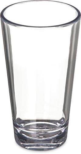 Carlisle 561607 Alibi Heavy-Weight Plastic PintMixing Glass 16 oz Set of 24