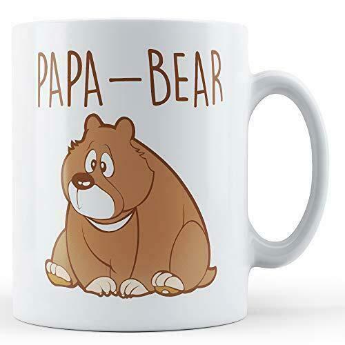 Papa - Bear Printed Mug