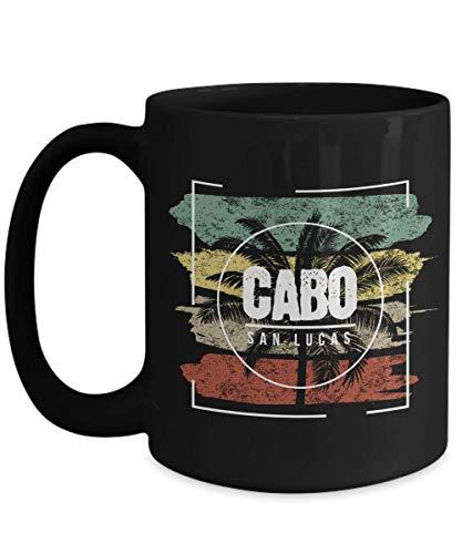 Cabo San Lucas Souvenir 15oz Black Coffee Mug Tea Cup Christmas Gift