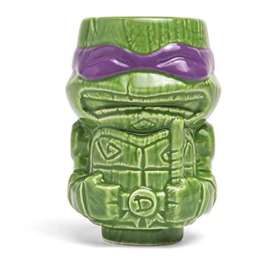 Geeki Tikis Teenage Mutant Ninja Turtles Mini Tiki Mug RAPHAEL LEONARDO MIKEY or DON PurpleDON